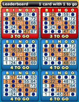 bingo liner 75 ball bingo cards