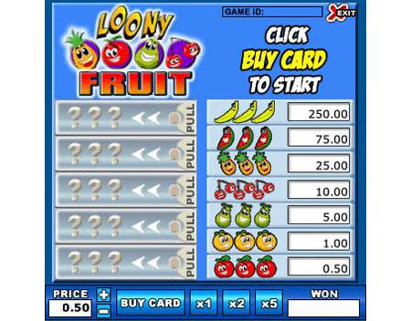 bingo liner online instant win games